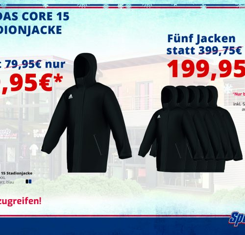 Adidas Core 15 Stadionjacke Angebot!