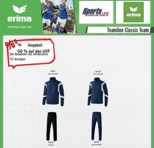 Sportsline Teamline Classic Angebot!
